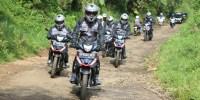 AHM Bawa All New Honda Supra GTR 150 Berpetualang  Jelajah Kalimantan-Sulawesi