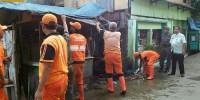 Belasan Lapak Pedagang Di Petamburan Dibongkar Satpol PP
