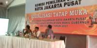 KPU Jakarta Pusat Sosialisasikan Pendaftaran Dan Pendataan Peserta Pemilu