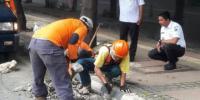 Saluran Air di MH. Thamrin Diperbaiki Oleh PPSU dan Satgas Tata Air