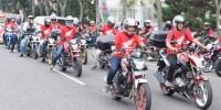 6.500 Bikers Ramaikan Honda Bikers Day Regional 2016