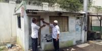 Warung Dibongkar Aparat Kelurahan Untuk Penghijauan