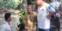 Pemkot Jakpus Pasang Sheet Pile Di Bantaran Kali Krukut Untuk Antisipasi Banjir