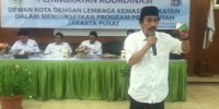 Dewan Kota Jakpus Gelar Koordinasi Dengan Lembaga Kemasyarakatan