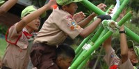 Berita Foto: Kwartir Cabang Jakarta Barat  Adakan Lomba Tingkat III