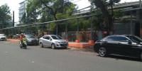 Loksem PKL Di Petojo Selatan Sedang Diperbaiki