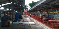 Kios Di Lenggang Jakarta Kemayoran Masih Kosong Melompong