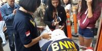 BNN Razia Penghuni Rumah Kos Di Jakarta Pusat