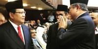 Ketemu SBY di DPR, Prabowo Bahas Koalisi Pilkada?