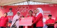 Telkomsel Gelar Acara Jalan Sehat di Kota Cirebon