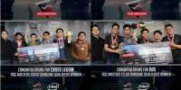 Tim Cross Legion dan Tim DDS Wakili Bandung di Ajang ROG Masters Indonesia