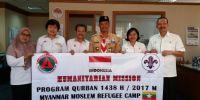 Sambut Idul Adha 1438 H, Kwarnas Lakukan Misi Kemanusiaan ke Myanmar