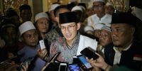 Wagub Sandiaga Bersyukur Banyak Masjid di Jakarta Tunaikan Salat Gerhana Bulan