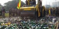 14.997 Botol Miras Dimusnahkan, Terbanyak Berasal dari Wilayah Jakbar