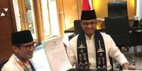 Resmi, Sandiaga Mundur Dari Jabatannya, Diumumkan Langsung Oleh Gubernur Anies