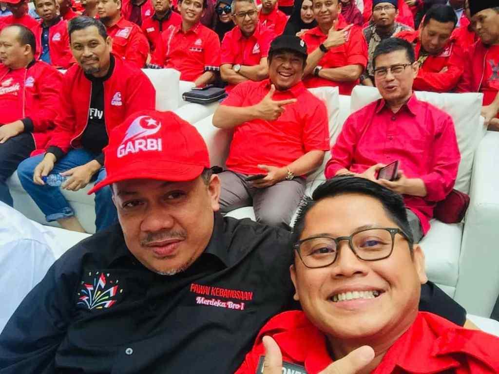 Fahri Hamzah dan Ardy di Acara Deklarasi GARBI DKI Jakarta