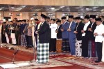Presiden Jokowi Beserta Ibu Negara Sholat Id di Masjid Istiqlal