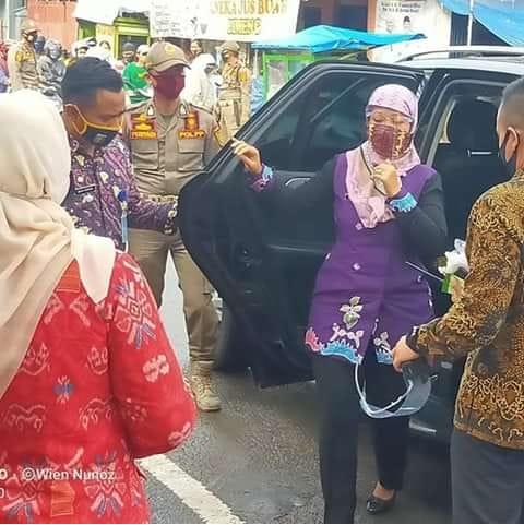 Wagub Lampung Minta Pasar Cimeng Bentuk Koperasi