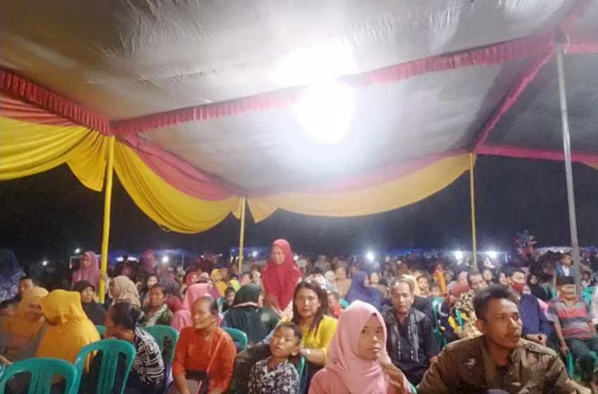 Peringati Tahun Baru Islam Kampung Kuripan Gelar Wayang Kulit Semalam Suntuk