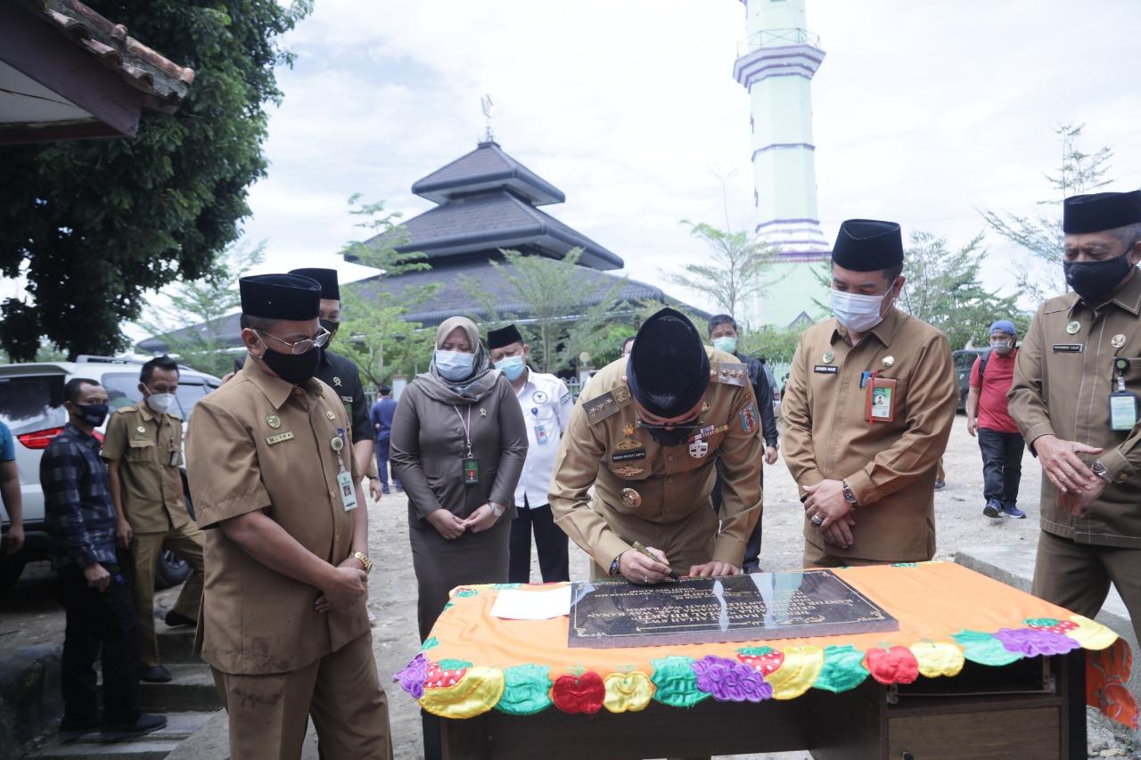 Peresmian Gedung Aula Amal Bhakti Kantor Kementerian Agama Kabupaten Way Kanan
