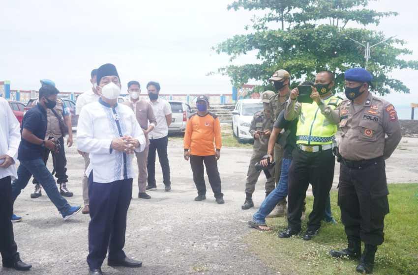 Pjs. Bupati Achmad Chrisna Putra, Lakukan Monitoring Lokasi Wisata antisipasi Libur Cuti Bersama