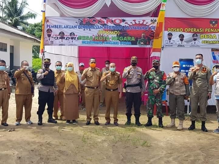 Tim V Monitoring PPKMD Lampura Pantau Tiga Kecamatan