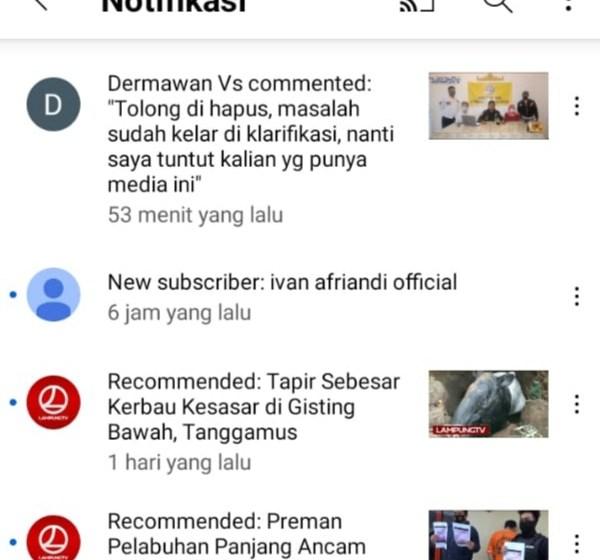 Merasa Diancam Jurnalis di Lampung Angkat Bicara Siap Tempuh Jalur Hukum