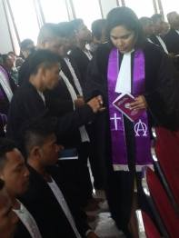 Peneguhan Sidi di Gereja Bethesda Poka