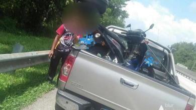 Photo of Tidak dibayar gaji, pemuda terpaksa tolak motor dari Tanjung Malim ke Tapah