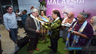 Photo of TMM2020: Pelancong disambut meriah di KLIA