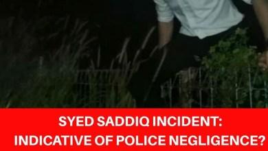 Photo of Adakah insiden Syed Saddiq petunjuk kecuaian polis, tanya Charles