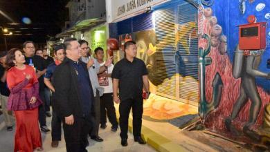 Photo of Raja Muda Perlis berangkat program Malam Baca Puisi VVIP Perlis