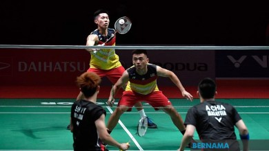 Photo of Langkah kanan Chia dan Soh di Kejohanan All-England