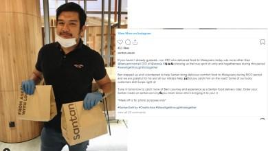 Photo of CEO AirAsia X jadi penunggang penghantar makanan