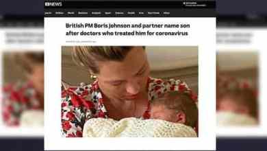 Photo of Perdana Menteri Britain namakan anak sempena dua doktor merawatnya