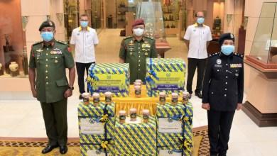 Photo of Kerajaan Perlis agih sumbangan kuih raya kepada anggota keselamatan