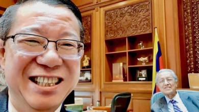 Photo of Ditolak PKR, Najib cadang DAP lantik Tun M sebagai Presiden