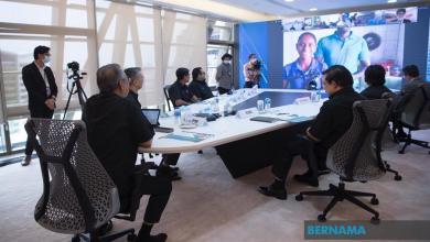 Photo of Berinteraksi dengan Muhyiddin melalui sidang video