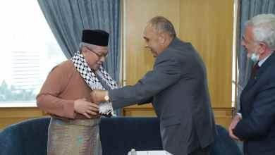 Photo of Dr. Adham terima kunjungan Duta Palestin, Walid Abu Ali