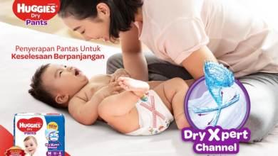 Photo of Huggies Dry Expert inovasi baharu untuk perlindungan bayi