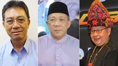 Photo of Bung Moktar, Jeffrey, Joachim dilantik Timbalan Ketua Menteri Sabah