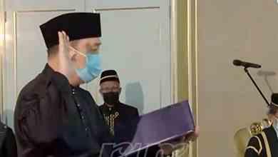 Photo of Hajiji angkat sumpah Ketua Menteri Sabah yang baharu