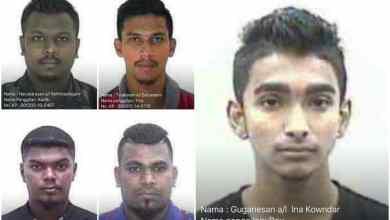 Photo of Kes bunuh: Polis cari lima individu
