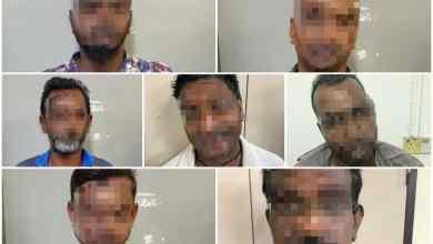Photo of Gaduh: 7 lelaki ditahan polis
