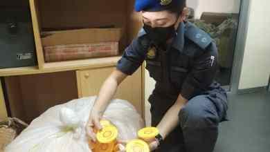 Photo of Minyak pelincir kenderaan tiruan berjenama Shell dirampas