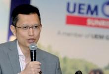 Photo of CEO UEM Sunrise letak jawatan