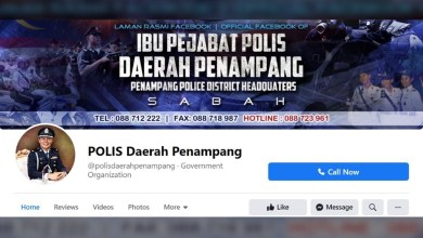 Photo of Walaupun stress, gurauan admin Facebook Polis Penampang Sabah mudah difahami