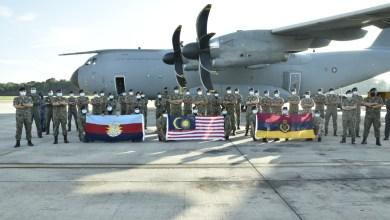 Photo of A400M TUDM bawa 14 tan peralatan hospital, perubatan ke Sabah