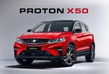 Photo of Proton umum harga jualan bagi model X50 baharu