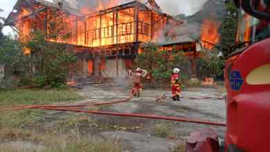 Photo of Restoran Tupai-Tupai musnah dalam kebakaran